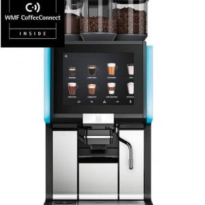 WMF 1500S+ bean to cup coffee machine front view