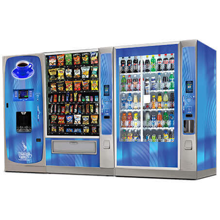 Crane Voce Media Hot Drinks Vending Machine alt-4