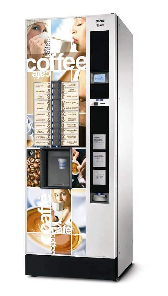 Necta Canto Hot and Cold Drinks Machine