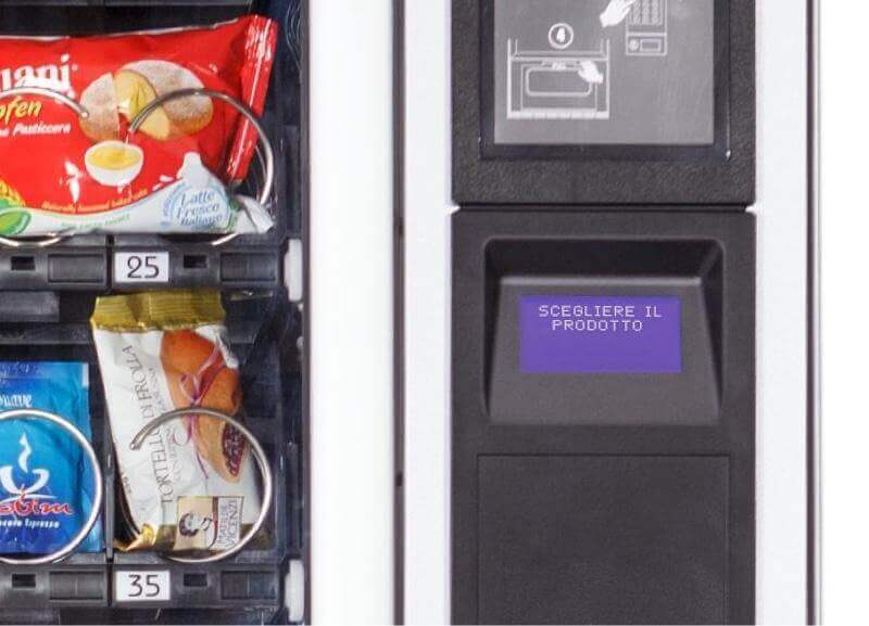 Necta Jazz Snack and Drink Vending Machine alt-3