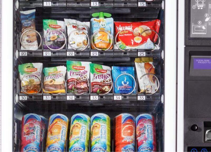 Necta Jazz Snack and Drink Vending Machine alt-1