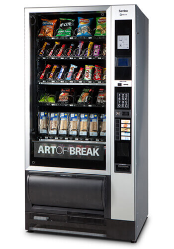 Necta Samba Snack and Drinks Machine