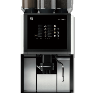 WMF 1500S Classic bean to cup coffee machine, front view
