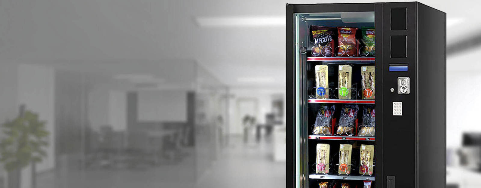 Vending Machines To Buy, Lease & Rent